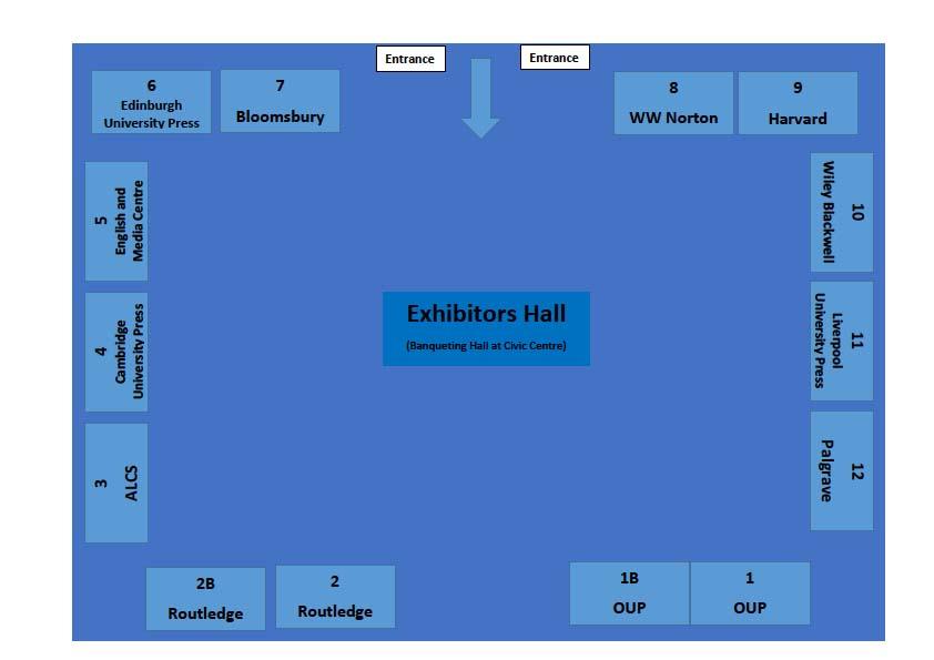 Exhibitors Hall Layout