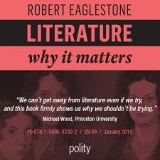 Polity publisher advert: Literature - Why it matters