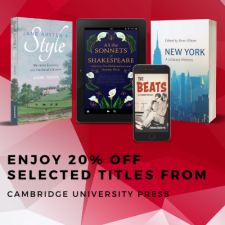 Cambridge University Press advert
